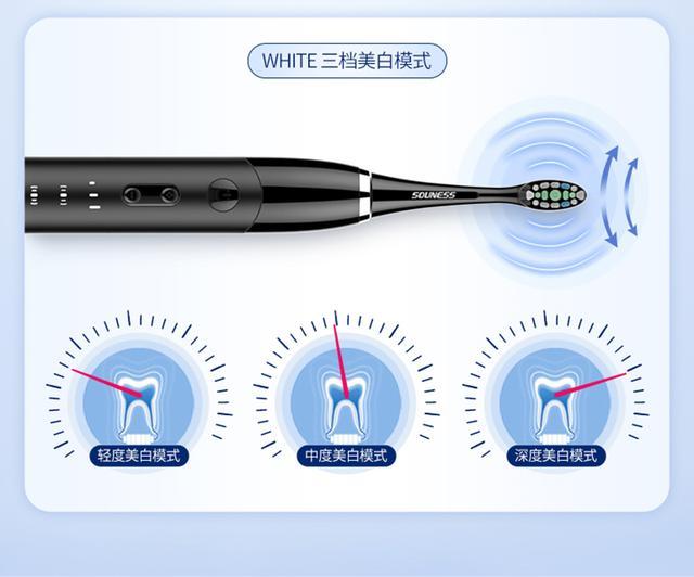 【寒武计划】索纳斯二代电动牙刷发布 多种模式可选
