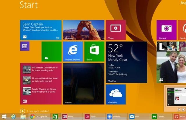 Windows  8.1 Update五大新特征 8日正式推送