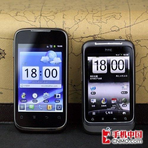 C网3G智能之争 华为C8650对比HTC野火S
