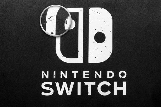 别随便给Switch贴膜 容易粘掉原装的涂