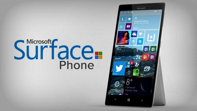 明年有戏见到Surface Phone 一来还就是三款
