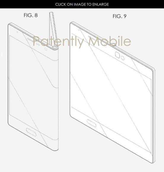 三星新专利曝光:看5寸智能手机如何变成7寸平板