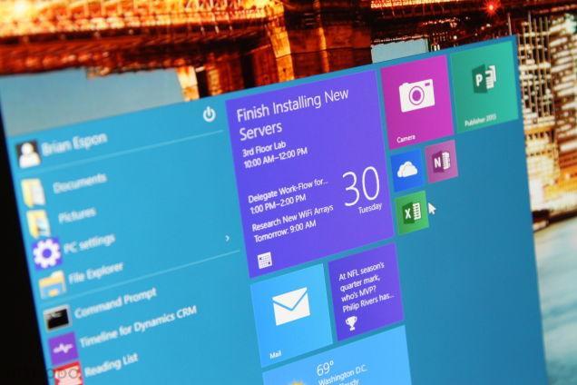 Windows 10上手 開始菜單回歸可定制性更強