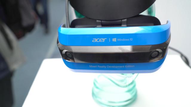 宏碁混合现实头盔试玩 当VR头盔用感觉很不错