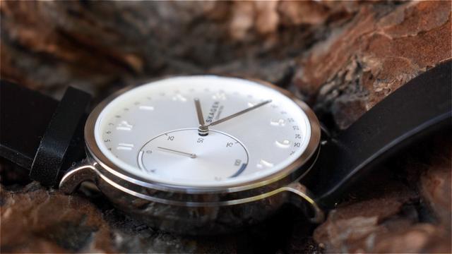 Skagen手表颜值超高 你就别期待有丰富功能了