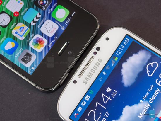 苹果5s和三星S4登上谷歌年度热搜榜前十