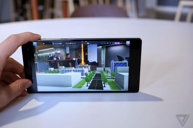 谷歌首款Tango平台手机预示AR技术未来更有前景