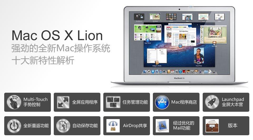 Lion十大特征