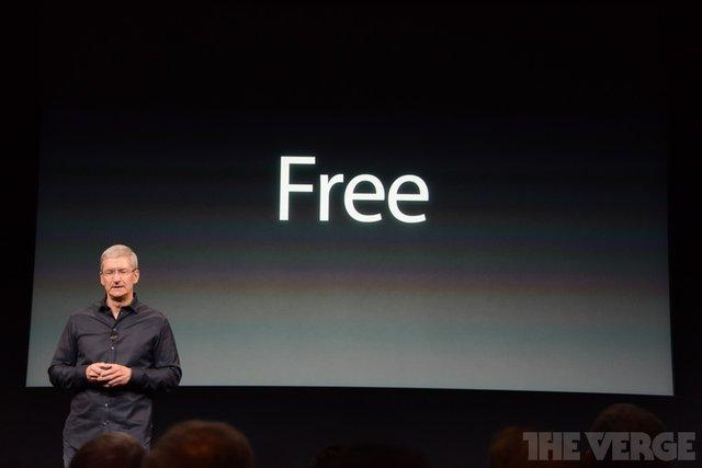 苹果宣布iWork系列/iMovie/iPhoto软件免费