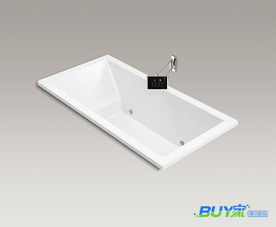 用这样的浴缸洗澡 简直美得不要不要的