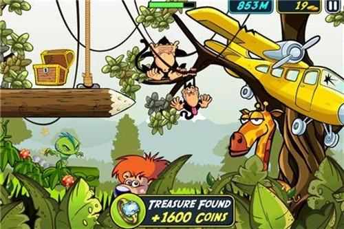 四肢发达人的最爱 iPad游戏外星救援队
