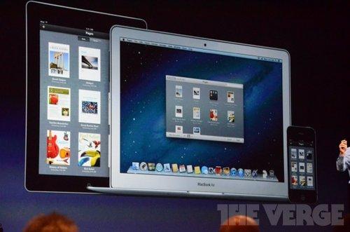 苹果正式推出Mountain Lion 适应新屏幕