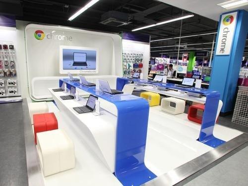 布满谷歌元素 谷歌打算年底开设零售店
