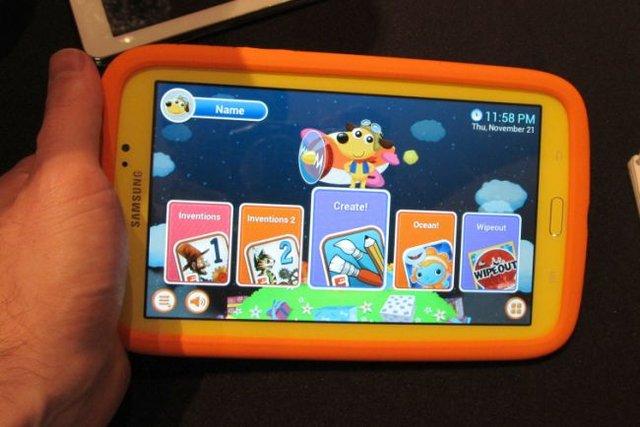 三星galaxy tab 3儿童平板上手 增加家长模式