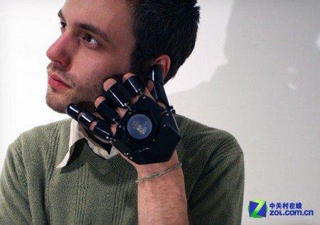 便捷手势操作 手套电话Glove One问世