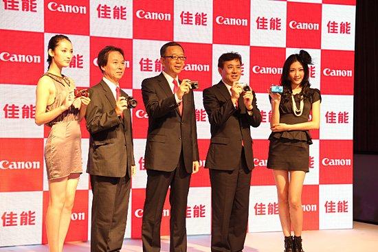 佳能秋季五款数码相机新品亮相上海