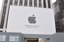 美国纽约第五大道苹果店