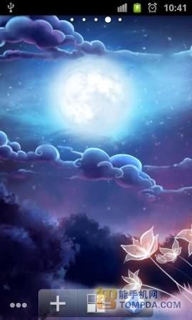 夜晚手绘图案大全流星