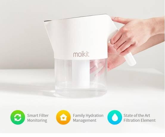 Tita智能滤水壶 全家健康饮水靠它就够了