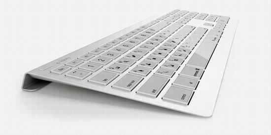 電子墨水鍵盤亮相可隨意改變鍵位佈局