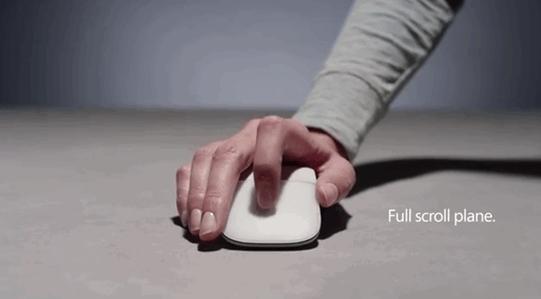 微软给Surface Laptop配了新款Surface Arc无线鼠标