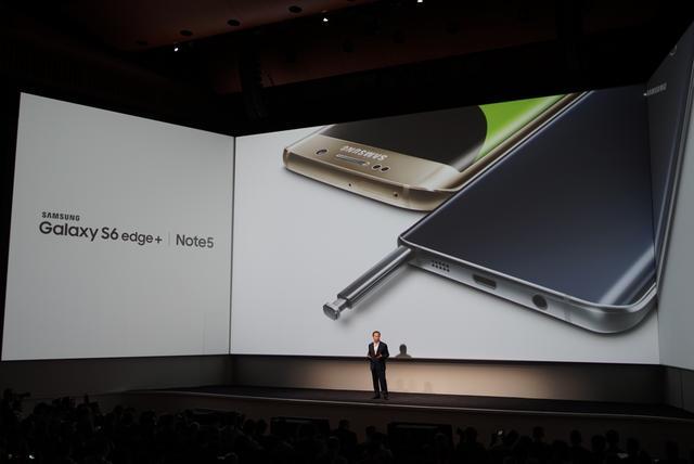 三星发布S6 edge+/Note 5 行货将于本月发布