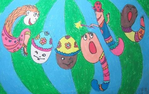 """我的六一""""想和学校的伙伴们一起去郊游,或者去动物园看猴子"""
