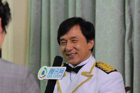 腾讯专访佳能EXPO博览会大使成龙