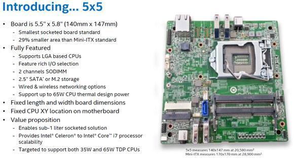 英特尔发布迷你PC主板 功能完善可升级