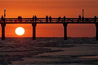 佛罗里达迷人的落日