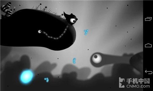 黑白卡通小怪兽