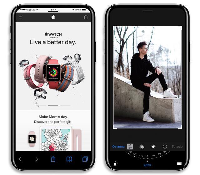 最新iPhone 8渲染图曝光,正面采用全屏幕设计
