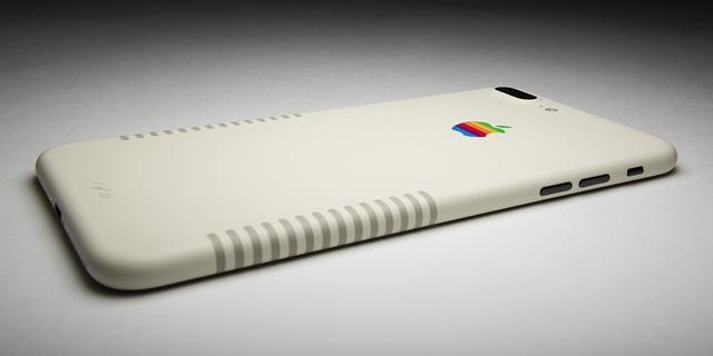 复古风格iPhone亮相 灵感源自经典Mac设计
