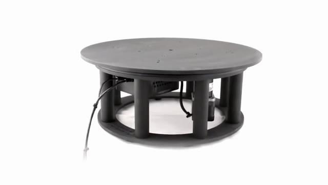 可承重181公斤的360度旋转智能拍照台 开网店神器