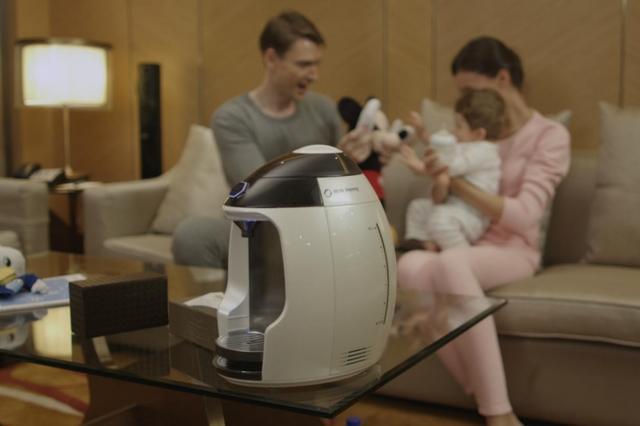 Milk Nanny智能冲奶机:一键泡奶 支持保温