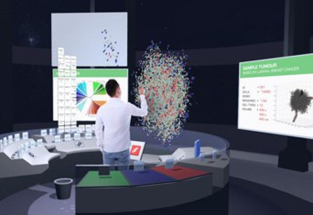 VR技术进军医学界:配合3D技术先拿癌症开刀