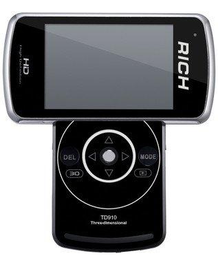 我的屏幕会旋转 莱彩TD910 3D摄像机