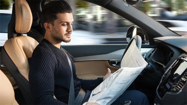 CES上那么多无人驾驶 是不是很快就能坐上了?