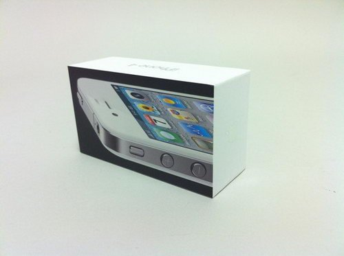 即将问世 iPhone4白色版开箱照抢先看