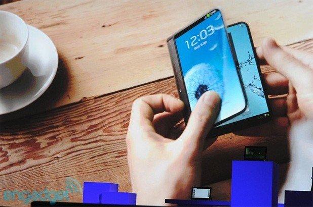 三星称2015年将推出可折叠柔性屏手机
