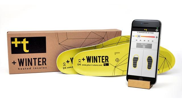 厉害死了!连鞋垫冬天都能自动加热+手机操控