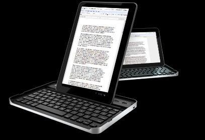 罗技展示GalaxyTab 10.1专属键盘外壳