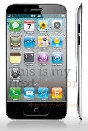 水滴外形 传苹果iPhone5或8月初发布