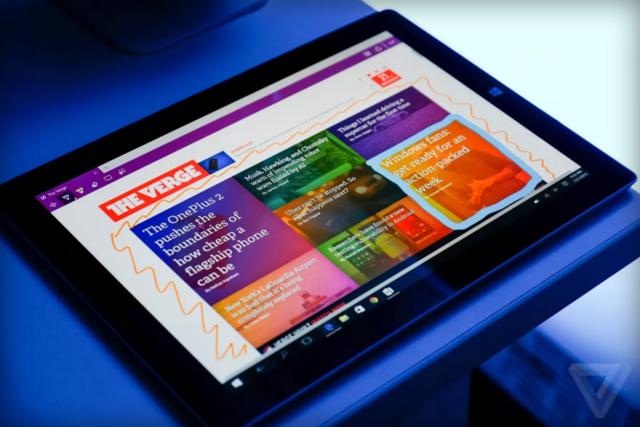 Windows 10下一版本中或包括防蓝光辐射功能