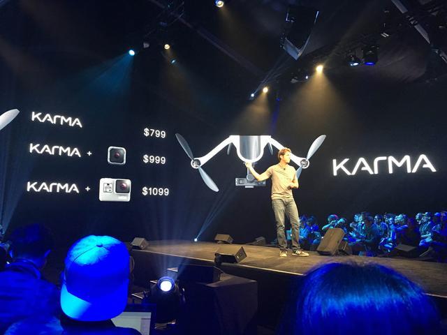 GoPro发布无人机Karma 将与大疆正面交战