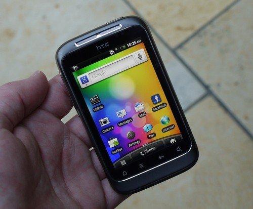 野火完美升级 HTC Wildfire S报1650元
