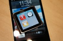 第六代iPod nano对比iPhone 4