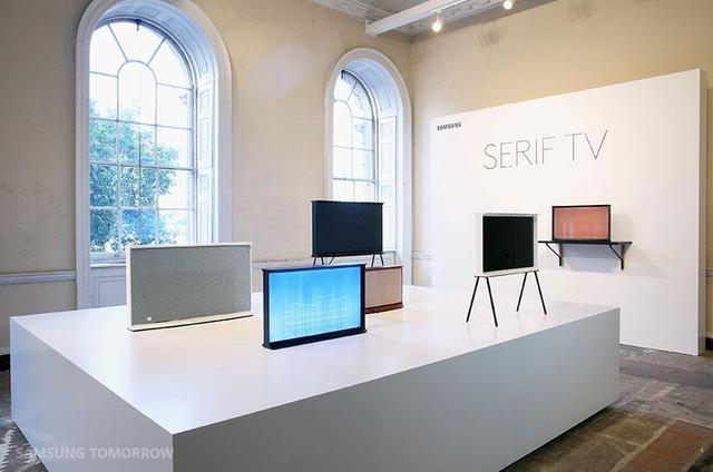 三星发布全新Serif系列电视 独特外观设计
