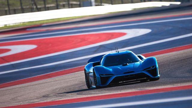 蔚来电动汽车创下单圈纪录 而且还是无人驾驶的
