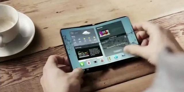 传三星Galaxy X可折叠手机年内亮相,看上去像钱包